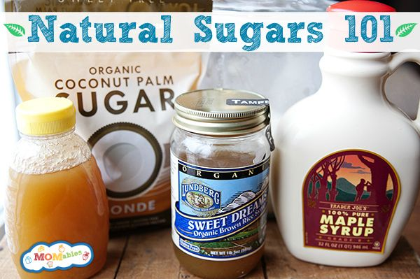 Good to know! natural white sugar substitutes - MOMables.com