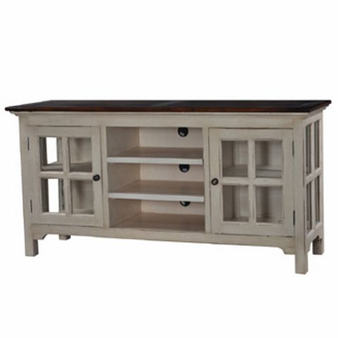 Mac Kenzie Plasma TV Stand - French Provincial Country Style Furniture at Maison Living