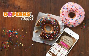 Dunkin' Donuts is currently running their popular Perks Week promo!