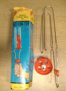 Wheel Go. Vintage Magnetic Spinning Wheel Toy. 1970's Vintage Toy. | eBay