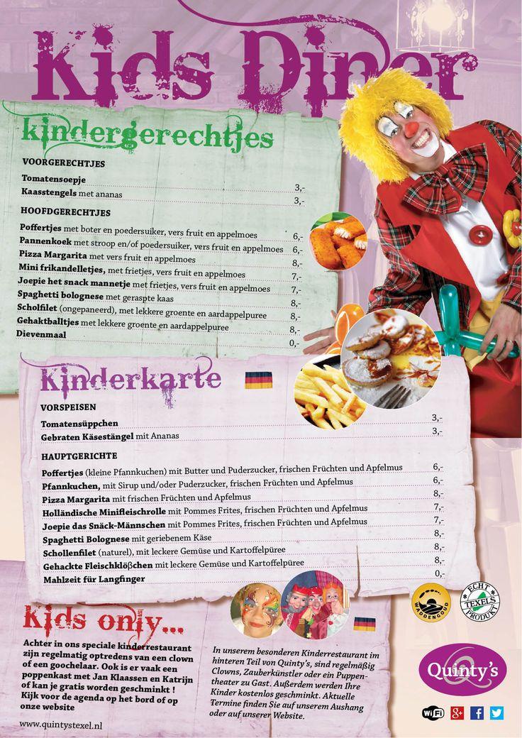 Quinty's Texel kinderrestaurant