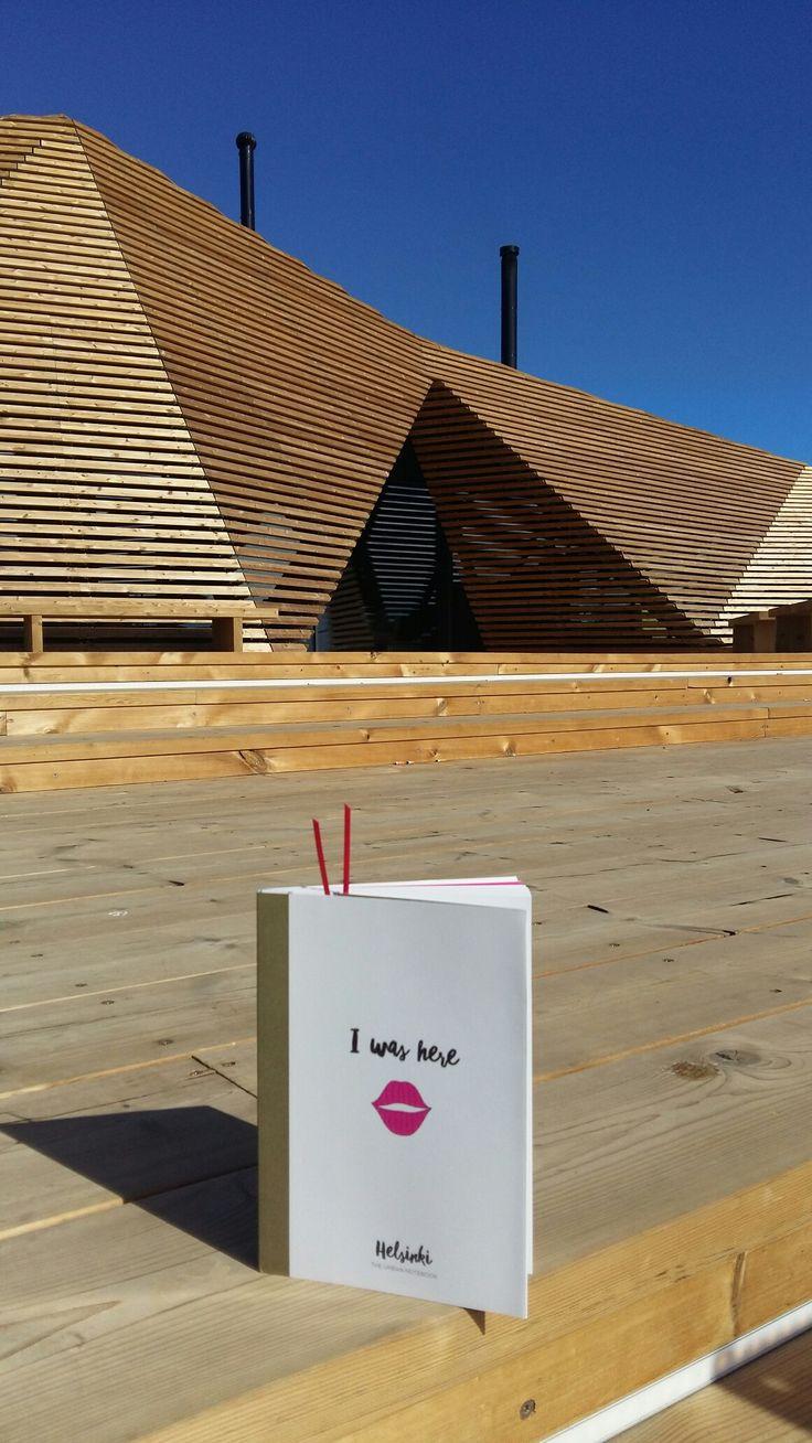 I was here  Helsinki - the urban notebook / cityguide visited Löyly