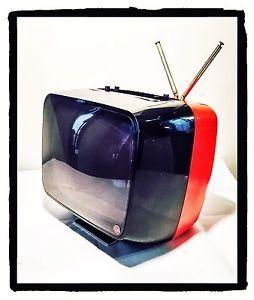 TELEVISORE TV Vintage CGE TP210/B 12 Pollici Bianco/Nero Anni '70 Bicolore | eBay