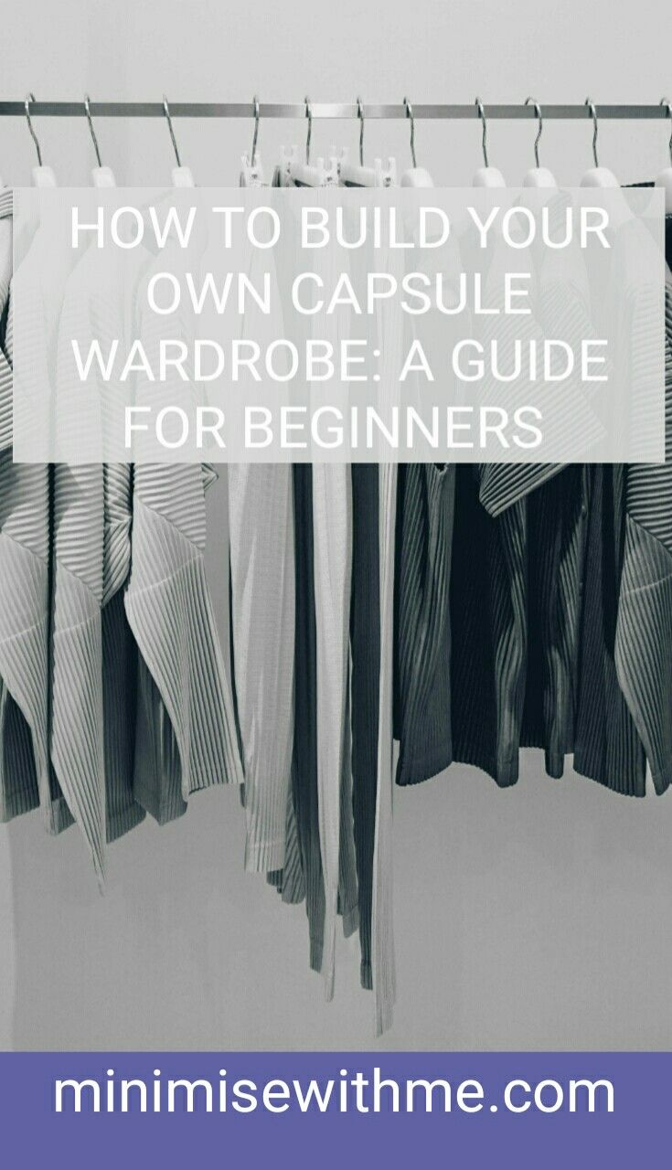 A capsule wardrobe can help simplify your life. It's a hand selected wardrobe of around 30 items of clothing you love that can be mixed and matched and are switched out each new season. Check out How to Build A Capsule Wardrobe: A Beginners Guide for how a capsule wardrobe can benefit and simplify your life and how to get started as well as the MINIMISE With Me 21+9 Capsule Wardrobe Challenge!