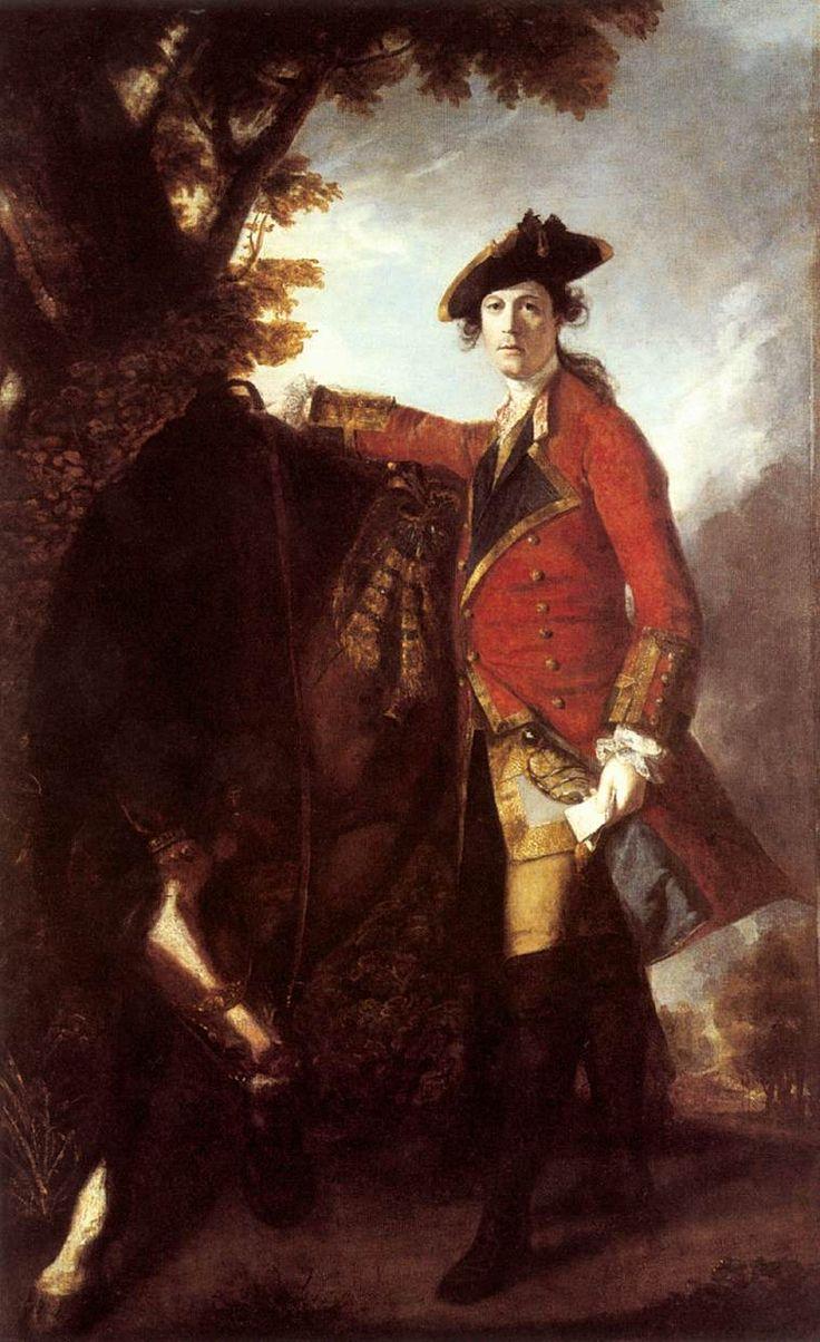 Sir Joshua Reynolds Captain Robert Orme 1756 Oil on canvas 239 x 147 cm