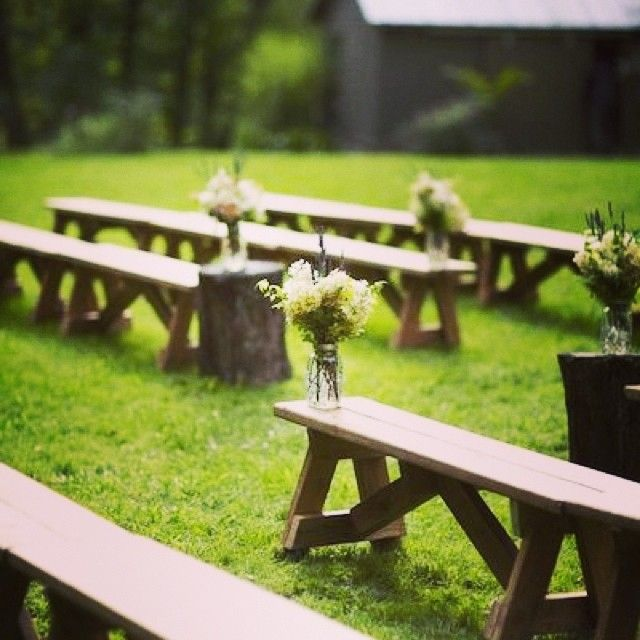 Lombardi house- cool idea for outdoor weddings!