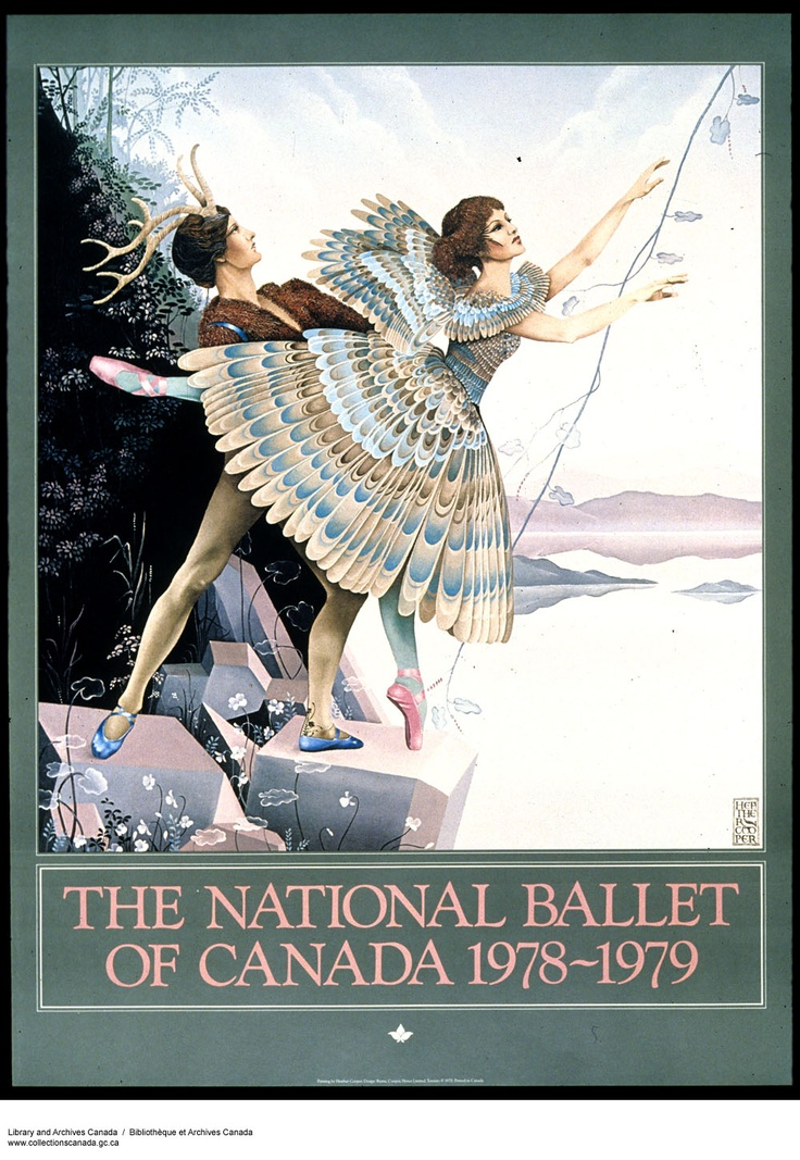 The National Ballet of Canada poster by Heather Cooper
