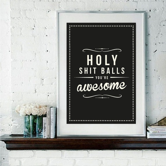 All of us are awesome.