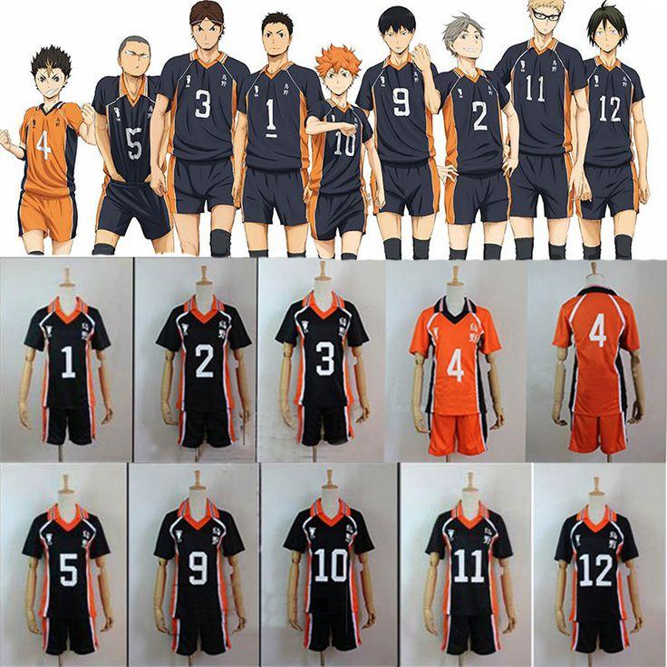 Hinata Shouyou - Aliexpress.com : Buy Haikyuu Cosplay Costume Karasuno High School Volleyball Club Hinata Shyouyou Sportswear Jerseys Uniform from Reliable uniform for beauty salon suppliers on L-email Cosplay Store