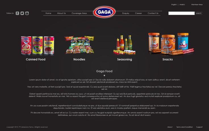Website Corporate - GAGA Food   PT.Jakarana Tama ver 2.0 - http://www.gagafoods.com #WebDesign #WebDevelopment #GAGAfood #PT_Jakaranatama #Jasa_Pembuatan_Website #WebCorporate