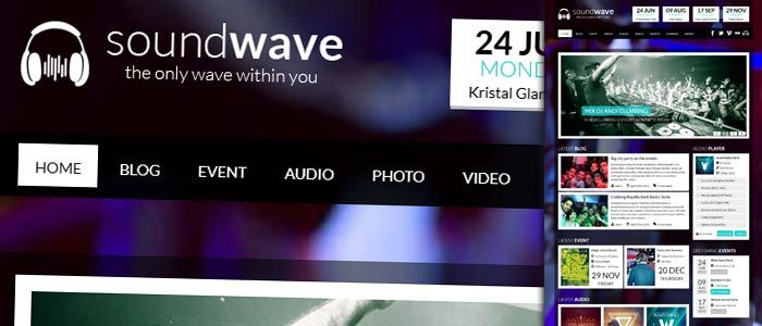 SoundWave is the place where you can enjoy music & radio while you look up for available or upcoming nightclub events.