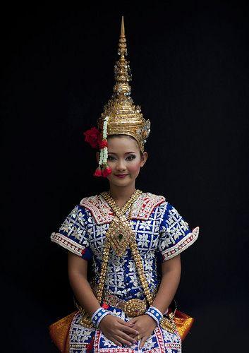Thai traditional dancer, Thailand