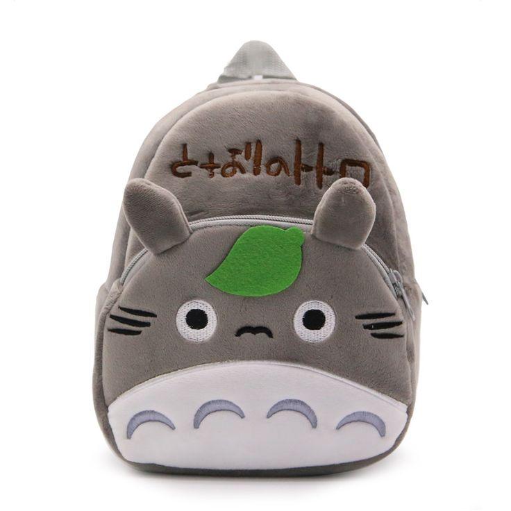 Anime Tonari no Totoro Cosplay Totoro Cos Japan cute cartoon children bag candy bag plush backpack