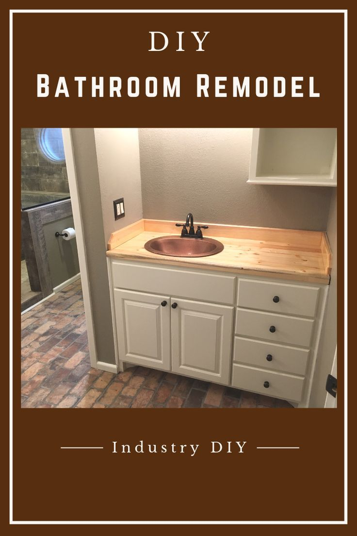 Step By Step Instructions On How I Remodeled Our Bathroom You Can