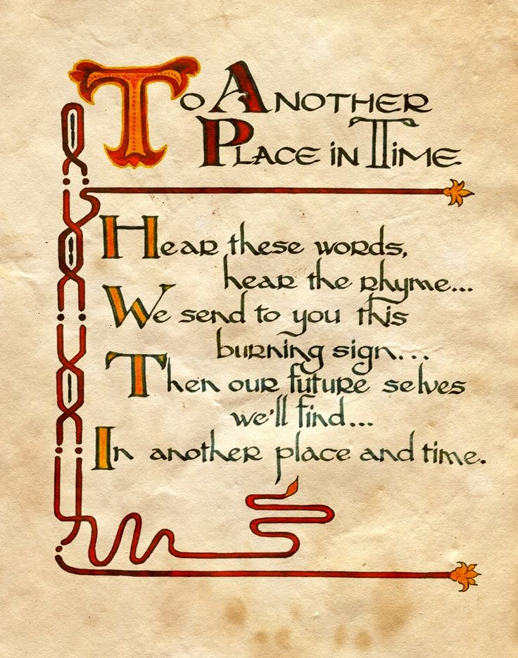 """To Another Place in Time"" - Charmed - Book of Shadows"