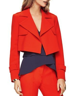 BCBGMAXAZRIA Gerald Cropped Jacket | Bloomingdale's