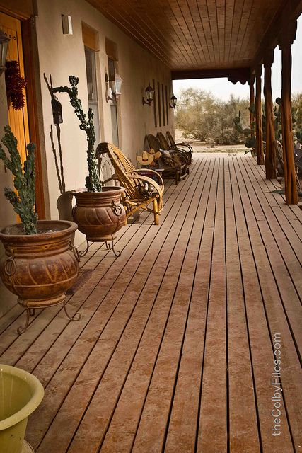 southwestern style- was my bunk house dream