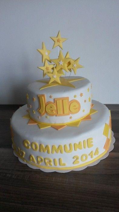 Communietaart / sacrament cake