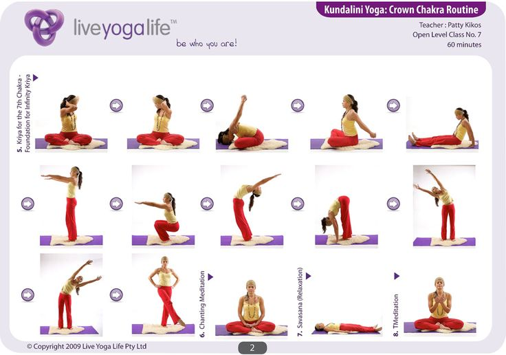 Kundalini Yoga Exercises | Kundalini Yoga Chakra Program Complete Set (Classes 1 to 8)
