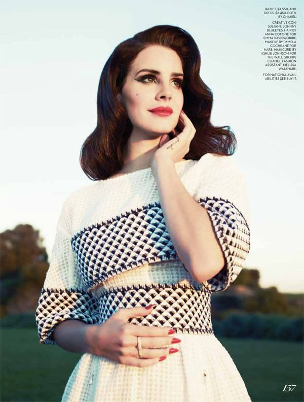 Lana Del Rey – Fashion Magazine (Summer 2013)