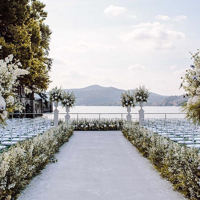 Italy Destination Wedding Ideas Inspiration Ceremony Back Drop Reception Styling Examples