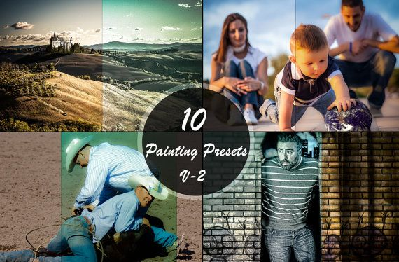 Sale 50 OFF  Painting Presets V2 Photography Editing by ONESMFA, $4.00