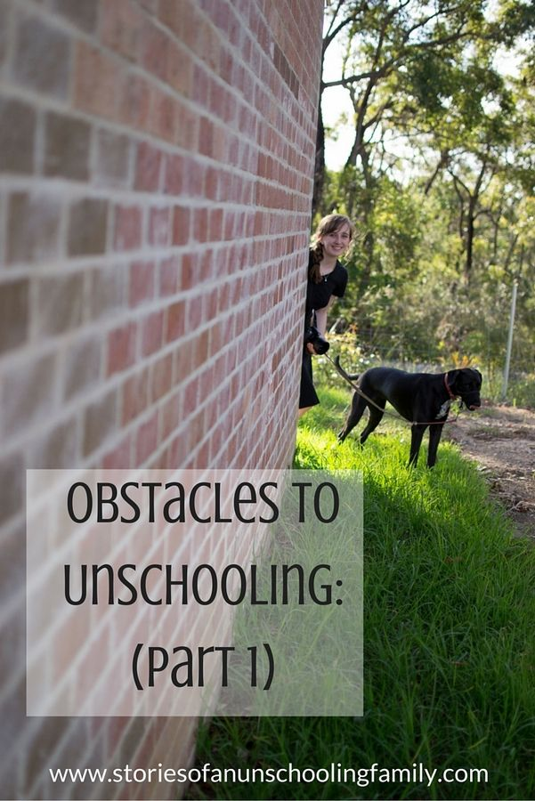 Obstacles to Unschooling (Part 1) | Stories of an Unschooling Family