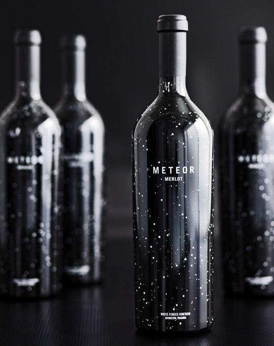 Stellar Brand Design for Meteor Merlot
