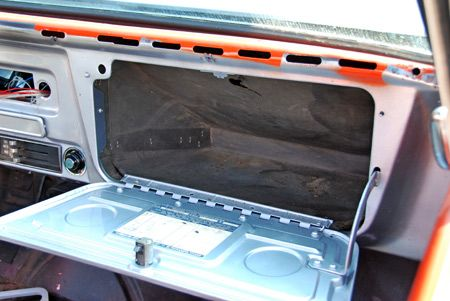 I DO remember this! The glove compartment door that opened flat and had 2 indented circles where you could put your drink