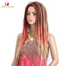Golden Beauty 18inch Synthetic Crochet Hair Extensions Senegalese twist Braids 30 strands/pack //FREE Shipping Worldwide //