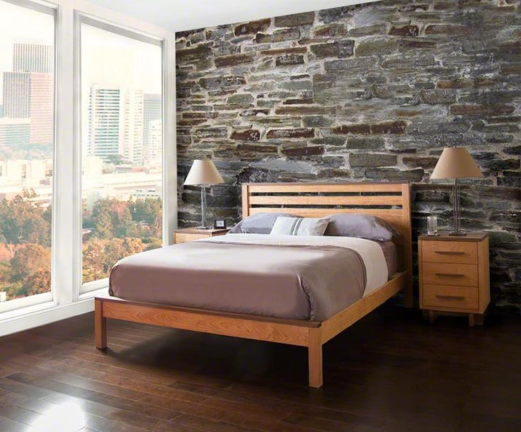 Contemporary Oak Bedroom Furniture Enchanting Decorating Design