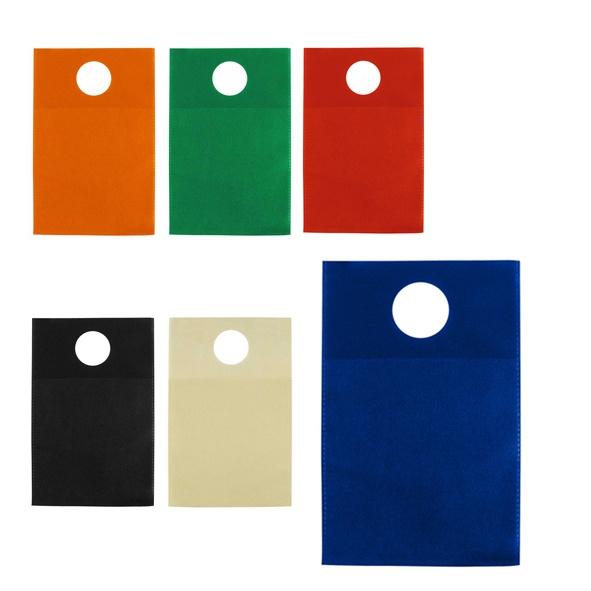 COD.EC013 Bolsa Ecológica para el Automóvil, ideal para usar como papelero o basurero en la palanca de cambio o el asiento trasero. Tamaño: 18 x 28 cm.
