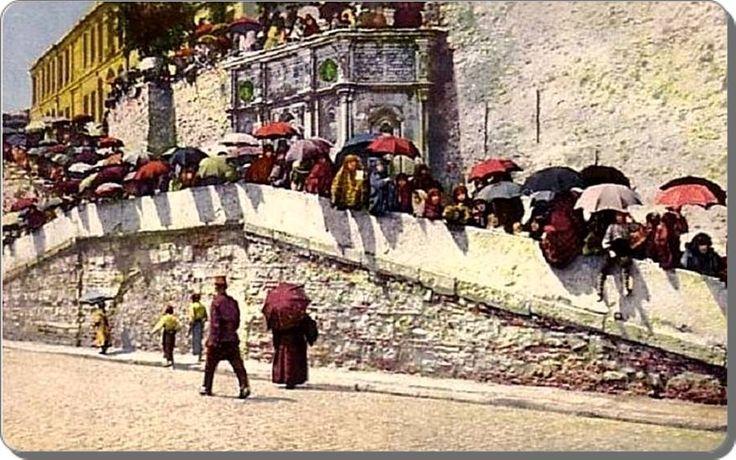 1900lü yıllarda Kabataş, Setüstü #kabataş #istanbul #istanlook