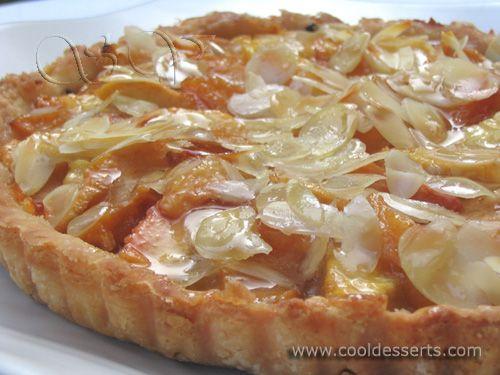 Миндально-Персиковый Тарт (Almond Peach Tart)
