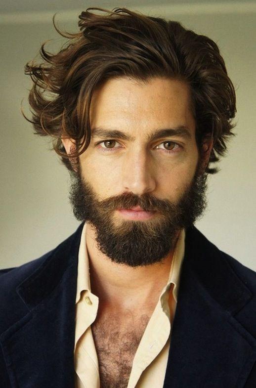 Long Hair Guys Or Short : Best 25 guys with beards ideas on pinterest guy mustache