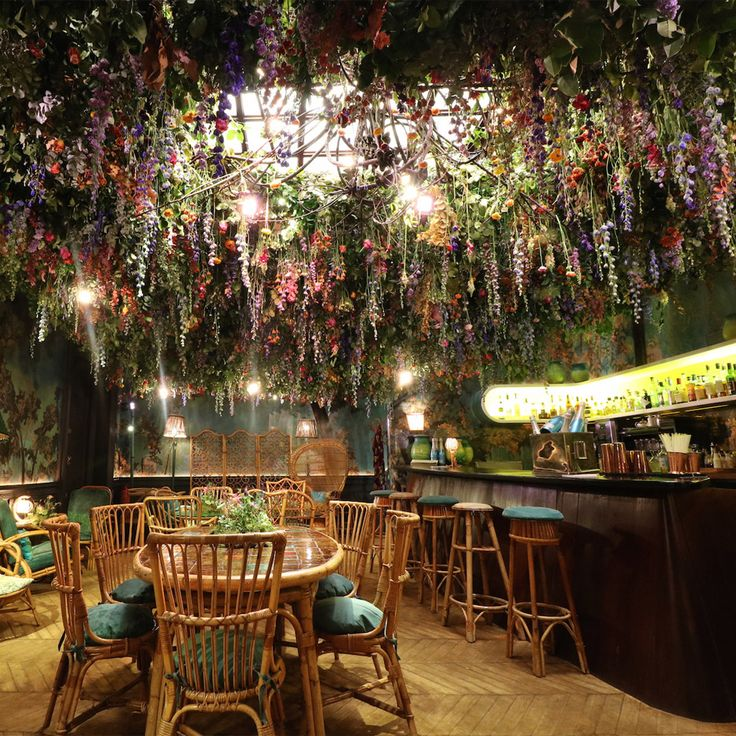 Four leading florists have created installations that