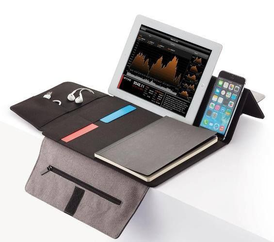 """PORTA TABLET DA 7-8"""" ODESSA  Porta tablet da 7-8"""" in rPET. Utile anche per i tuoi oggetti da ufficio."""