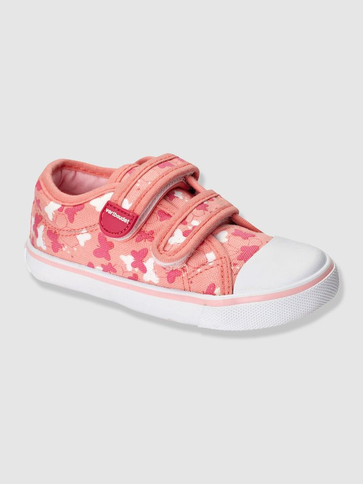 Basket toile fille spécial maternelle, Chaussures