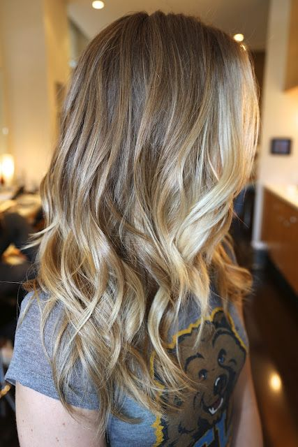 Nice baby blonde highlights...Johnny Ramirez at his best in NYC!