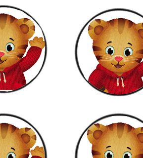 Free Daniel Tiger Birthday Party decor Printables