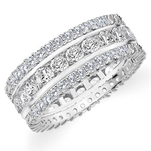 Diamond Stackable Eternity Ring