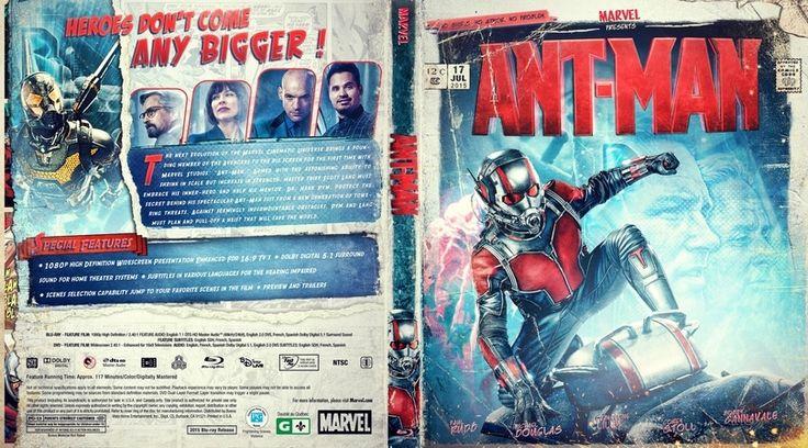 Ant-Man Custom Blu-ray Cover