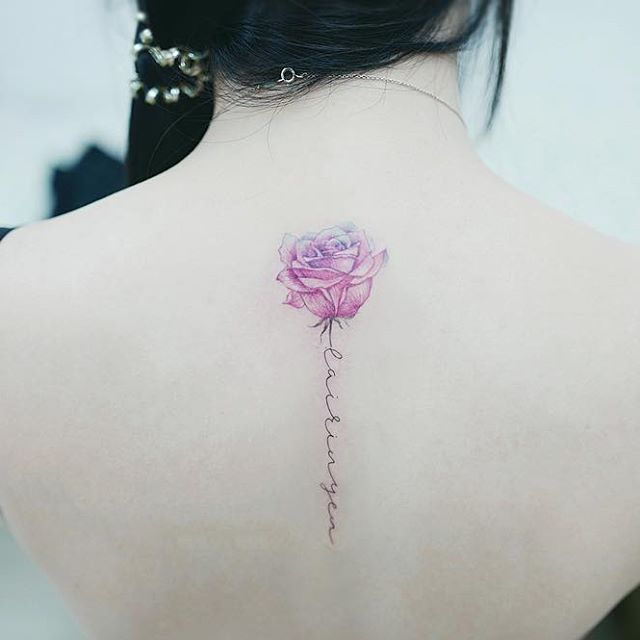 Flower Tattoo With Names: 25+ Best Ideas About Watercolor Rose Tattoos On Pinterest