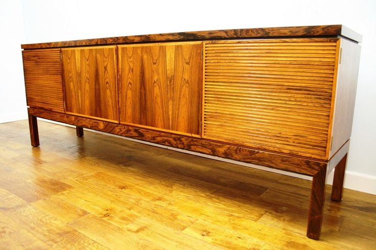 Exceptional Bridport Sideboard, Designed By Robert Hermitage For Archie Shine, Late  60s  Early 70s