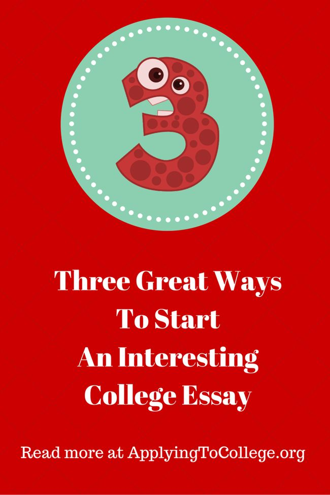 good ways to start your college essay What are some ways to start an essay with a question what are some good ways to start a persuasive essay what is the best way to start out college essays.