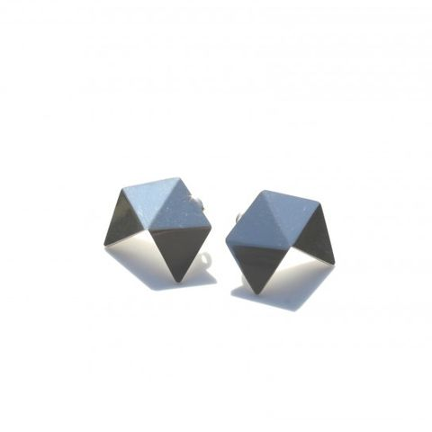 Geom Earrings No1 - Triangles