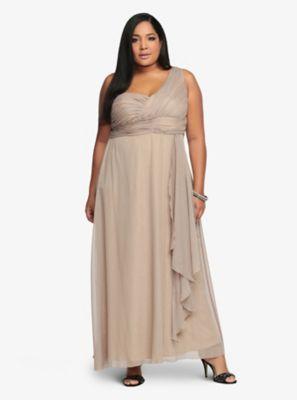 Torrid Premium One-Shoulder Dress