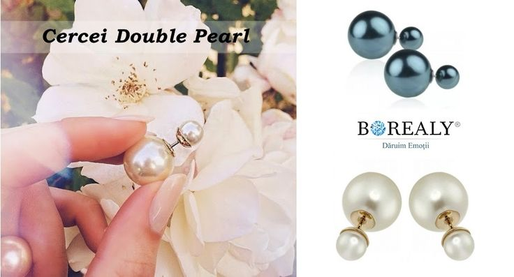 double pearls borealy jewelry accessories
