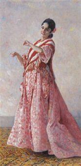 Justa dansant by Auguste Baud-Bovy