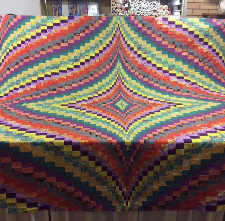 Bargello quilt by Pat (www.gumnutgear.com.au)
